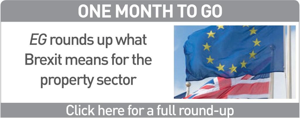 EU Brexit button