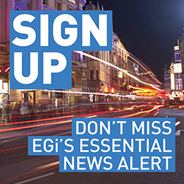 Sign up to EGi news alerts