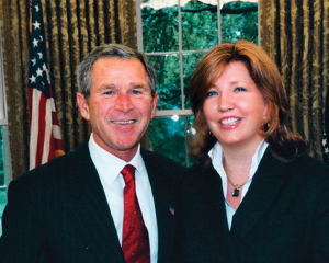 George-W-Bush-and-Pippa-Malmgrem-570