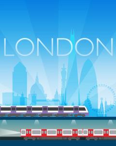 LONDON POSTER LARGE