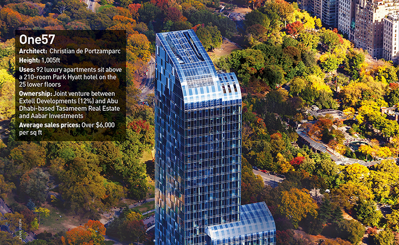 ONE57 FACTBOX