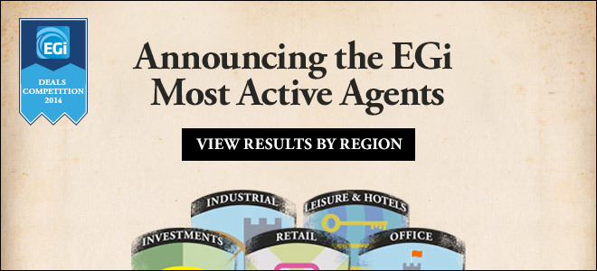 Most Active Agent 2014