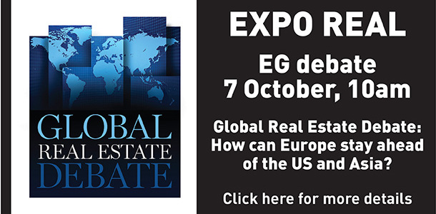 Expo real debate button
