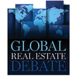 Global real estate debate logo